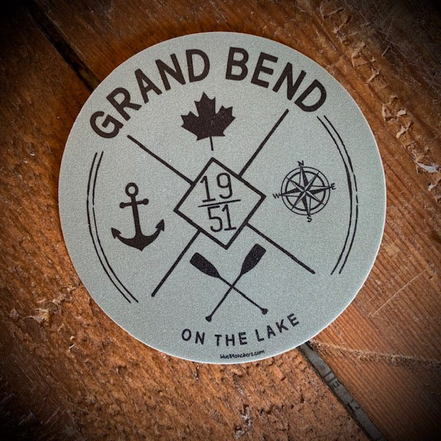Grand Bend Souvenir On The Lake Vinyl Sticker