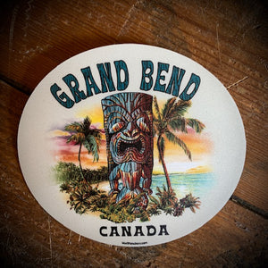 Grand Bend Souvenir Tiki Vinyl Sticker