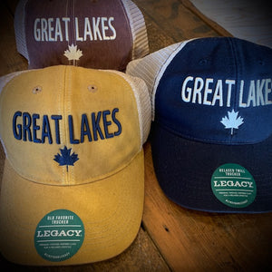 Great Lakes Classics Maple Leaf Snapback Ball Cap
