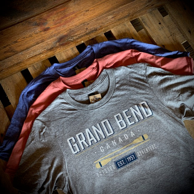 Grand Bend Souvenir Right Track Short Sleeve Tee