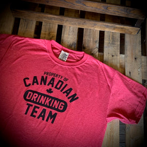 Canadian Drinking Team Short Sleeve Tee