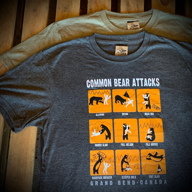 Grand Bend Souvenir Bear Attack Short Sleeve Tee
