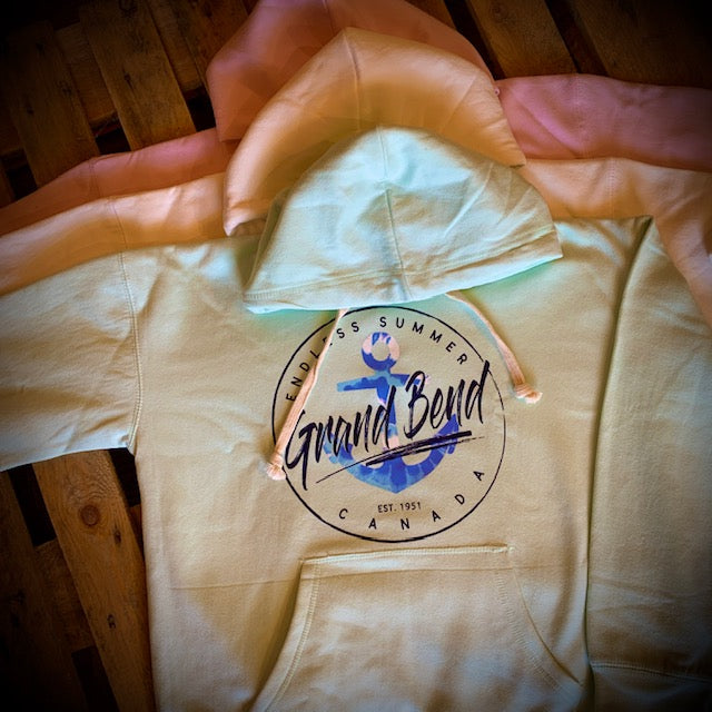Grand Bend Souvenir Anchor Pullover Hoodie