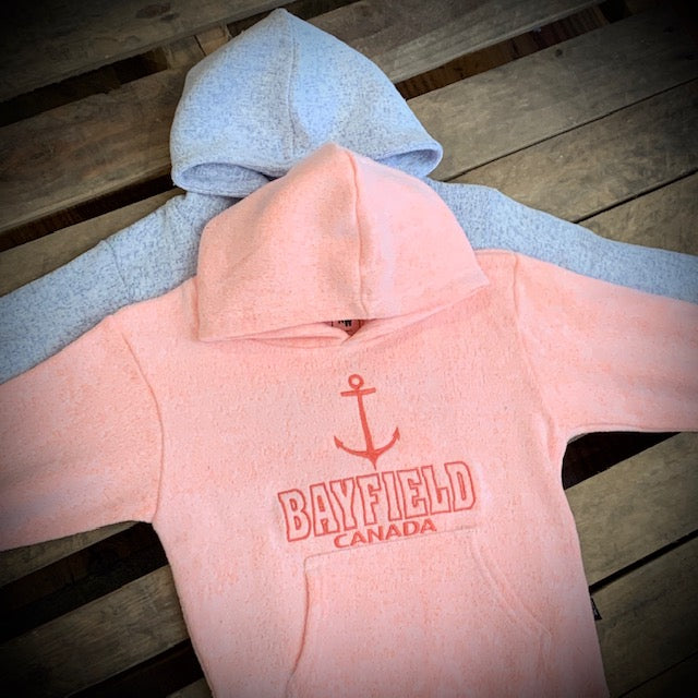 Bayfield Souvenir Youth Nantucket Anchor Hoodie