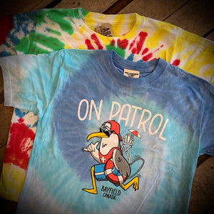 Bayfield Youth Souvenir Patrol Tie Dye Short Sleeve Tee