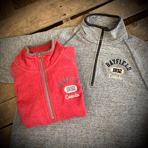 Bayfield Souvenir Campus Crew 1/4 Zip Fleece