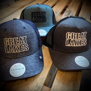 Great Lakes Outline Snapback Ball Cap