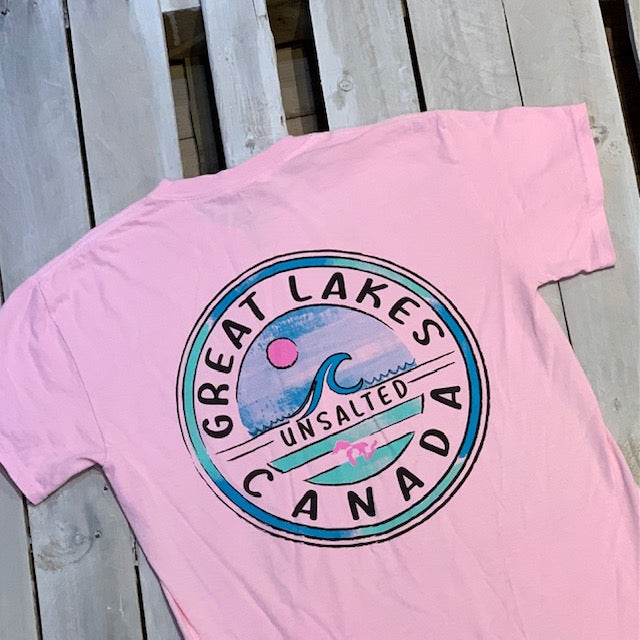 Great Lakes Classics Relevant Wave Short Sleeve Tee