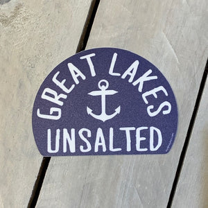 Great Lakes Classics Baffled Maple Leaf Sticker