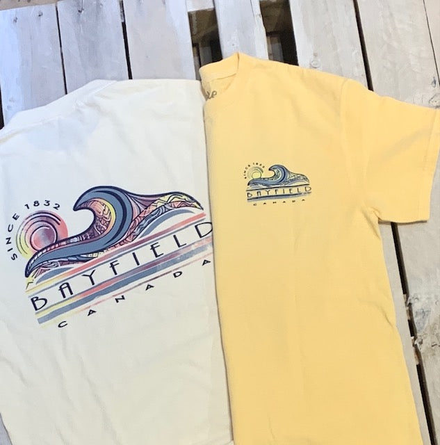 Bayfield Souvenir Happy Place Short Sleeve Tee
