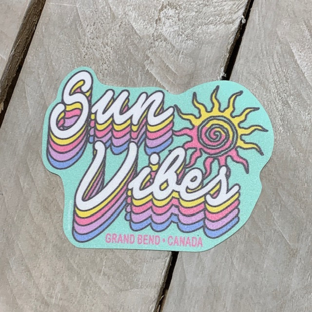 Grand Bend Souvenir Sun Vibes Sticker