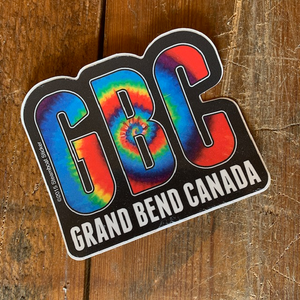 Grand Bend Souvenir Tie Dye Vinyl Sticker