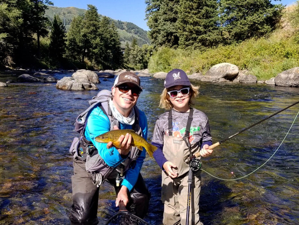 Kids and Fly Fishing, by Cooper Anderson