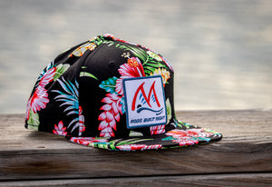 "Mauser ""Rods Built Right"" Floral Snapback"
