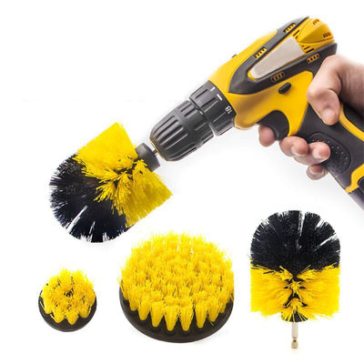 Power Drill Scrubber Set