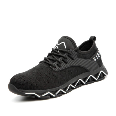 Ziczac Black White Ziczac Indestructible Shoes