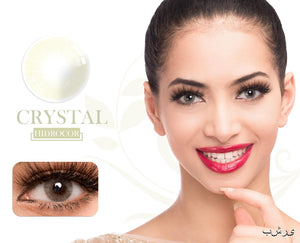 Crystal Hidrocor Color Contacts