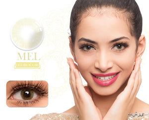 Mel Hidrocor Color Contacts