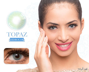 Topaz Hidrocor Color Contacts