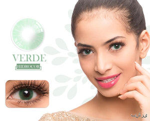 Verde Hidrocor Color Contacts
