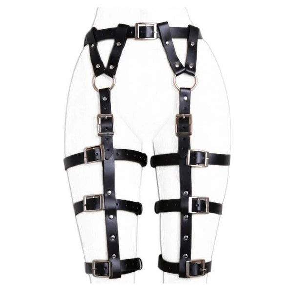 Gothic Leg and Waist Harness