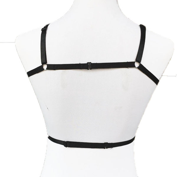 Gothic Pentagram Body Harness