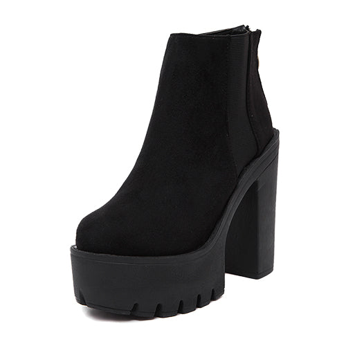 Gothic Classic Ankle Platform Boots