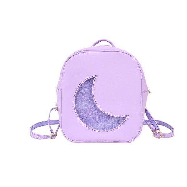 Gothic Harajuku Moon Backpack Bag
