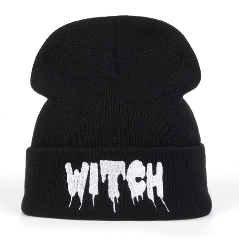 Gothic WITCH Beanie Hat