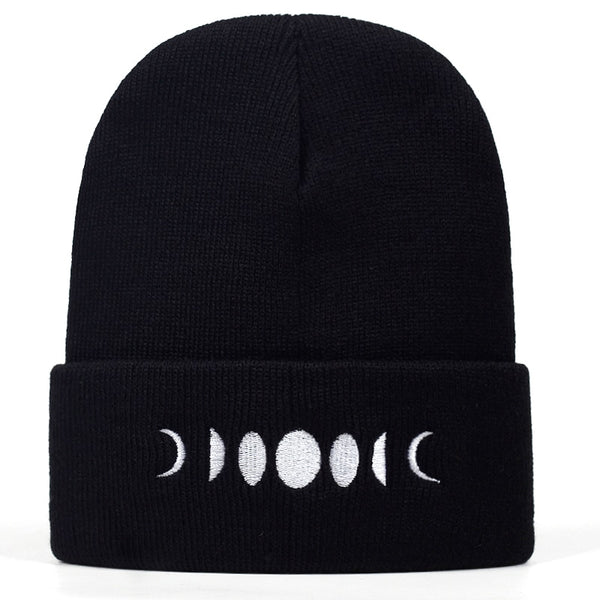 Gothic Moon Phases Beanie Hat