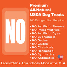 Lick You Silly Freeze-Dried Savory Beef Bites Dog Treats  – All-Natural USDA Inspected Freeze Dried Beef – Gluten, Grain & Wheat Free – Dog Training Treats
