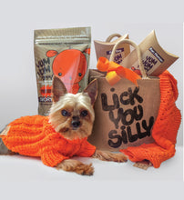 Sweater & Scarf + Tote + Treats- The Ultimate Lick You Silly gift set!