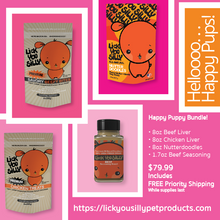 HAPPY PUPPY BUNDLE. . . Hot Seller. . . Limited Quantity!! - Lick You Silly Pet Products Shop