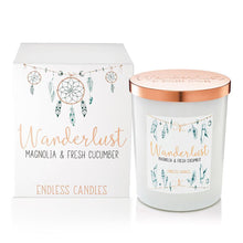 Wanderlust Jar Candle - Magnolia & Fresh Cucumber - The Organic Facialist