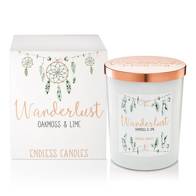 Wanderlust - Oakmoss & Lime - The Organic Facialist