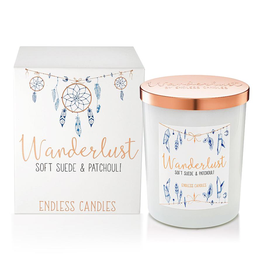 Wanderlust Jar Candle - Soft Leather & Patchouli - The Organic Facialist