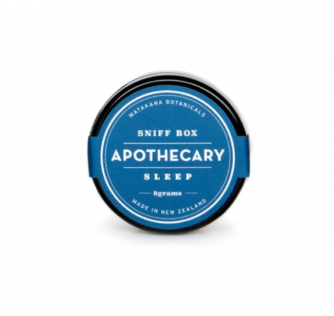 Apothecary Sniff Box - Sleep - The Organic Facialist