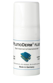 PlutioDerm Fluid 15ml Spot Treatment for Acne