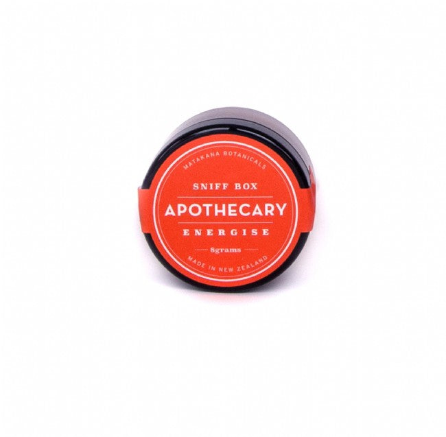 Apothecary Sniff Box  - Energise - The Organic Facialist