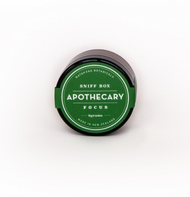 Apothecary Focus Sniff Box - The Organic Facialist