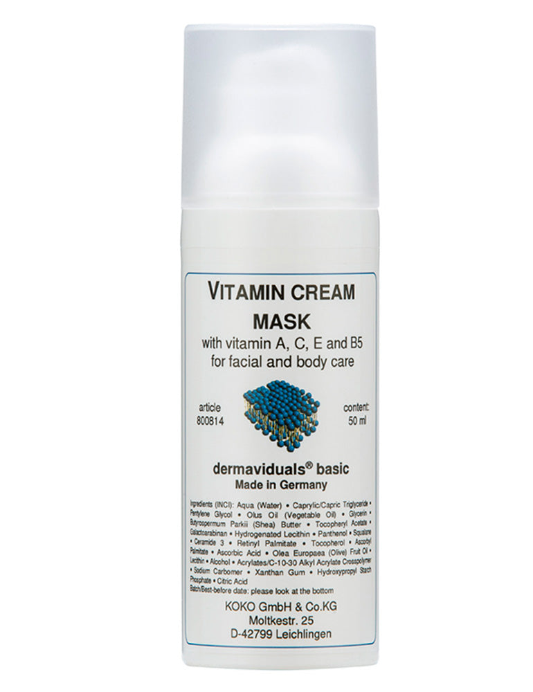 Vitamin Cream Mask - Tanya Ferguson