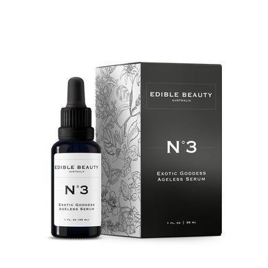 Edible Beauty | No.3 Exotic Goddess Ageless Serum - The Organic Facialist