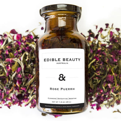 & Rose Pu-erh - The Organic Facialist