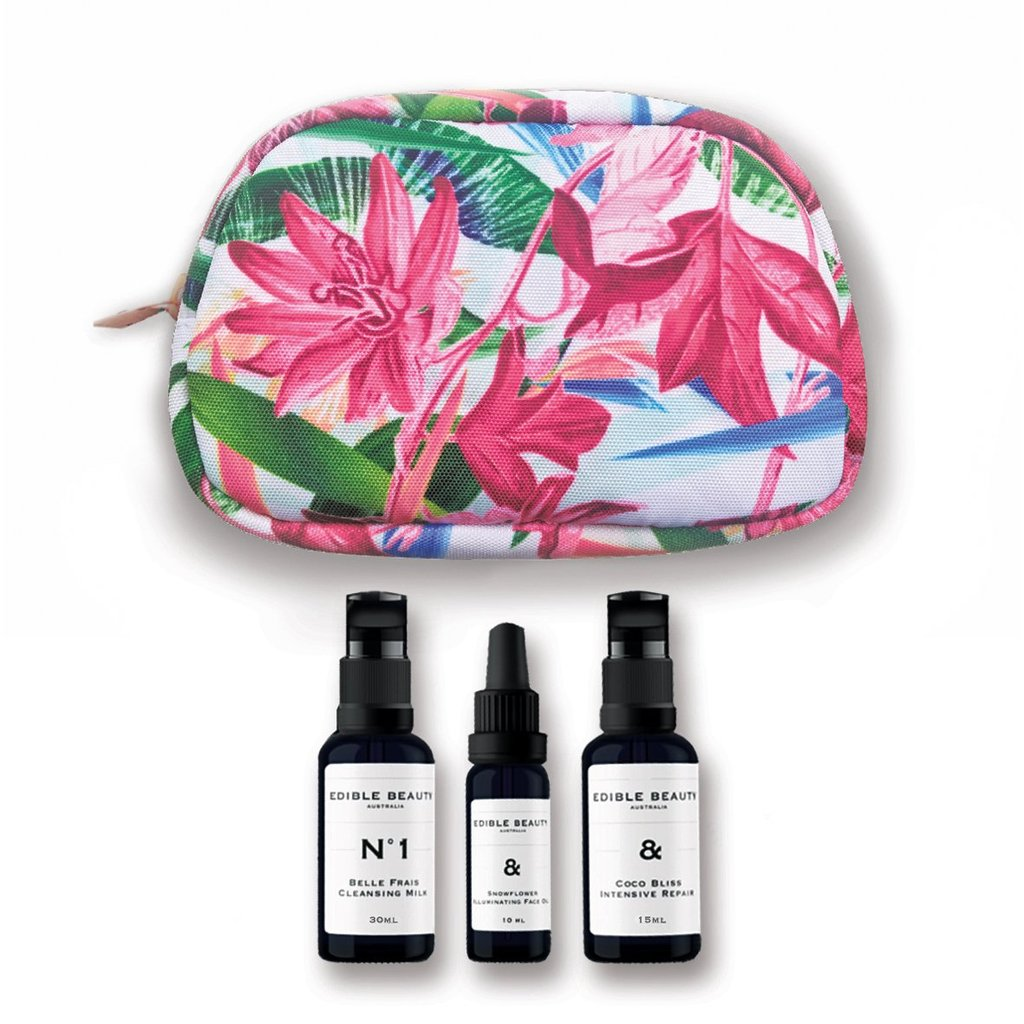 Edible Beauty | Ultra Hydration Kit  - Travel Mini Set - The Organic Facialist