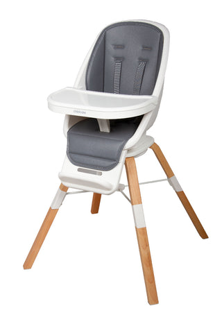 Childcare High Chair - Cloud 360° - Natural Wood Legs-Lilypond Kids
