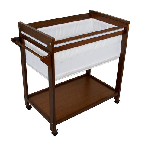 Bebe Care Crib - Walnut-Lilypond Kids