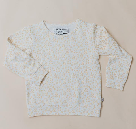 Halo and Horns Pullover- Bamboo French Terry-Lilypond Kids