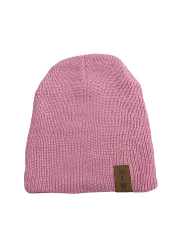 MLW By Design - Knit Beanie | Pink-Lilypond Kids
