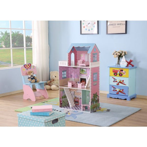 Euro Dollhouse with Furniture-Lilypond Kids