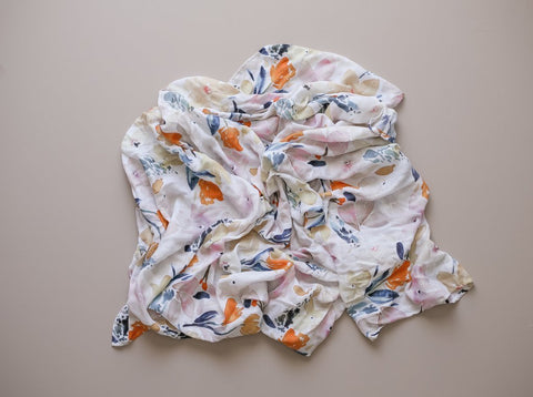 Two Darlings Sunshine Bamboo Swaddle-Lilypond Kids